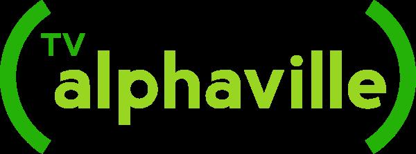 Logo antiga da tv alphaville