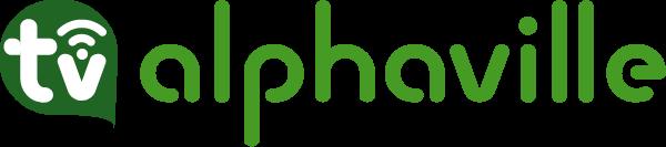 Logo nova da tv alphaville